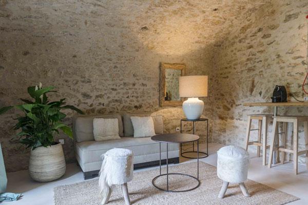 Maison d'hôtes & gîtes proche de Paris - Loft Lucas - Espace de vie - La Minotte
