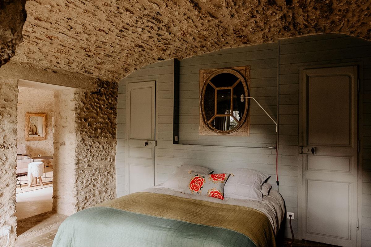 Maison d'hôtes & gîtes proche de Paris - Loft Lucas - Lit - La Minotte